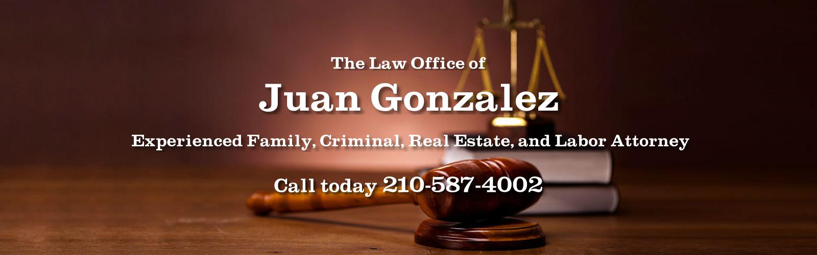 Juan Gonzalez Law